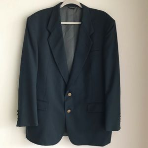 Vintage Christian Dior Monsieur Green Sport Coat